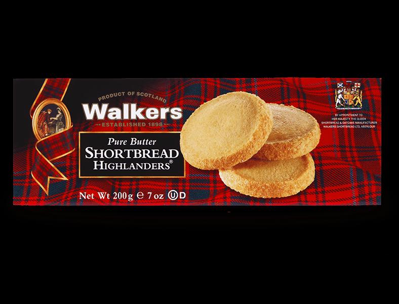 Carton Shortbread Highlanders