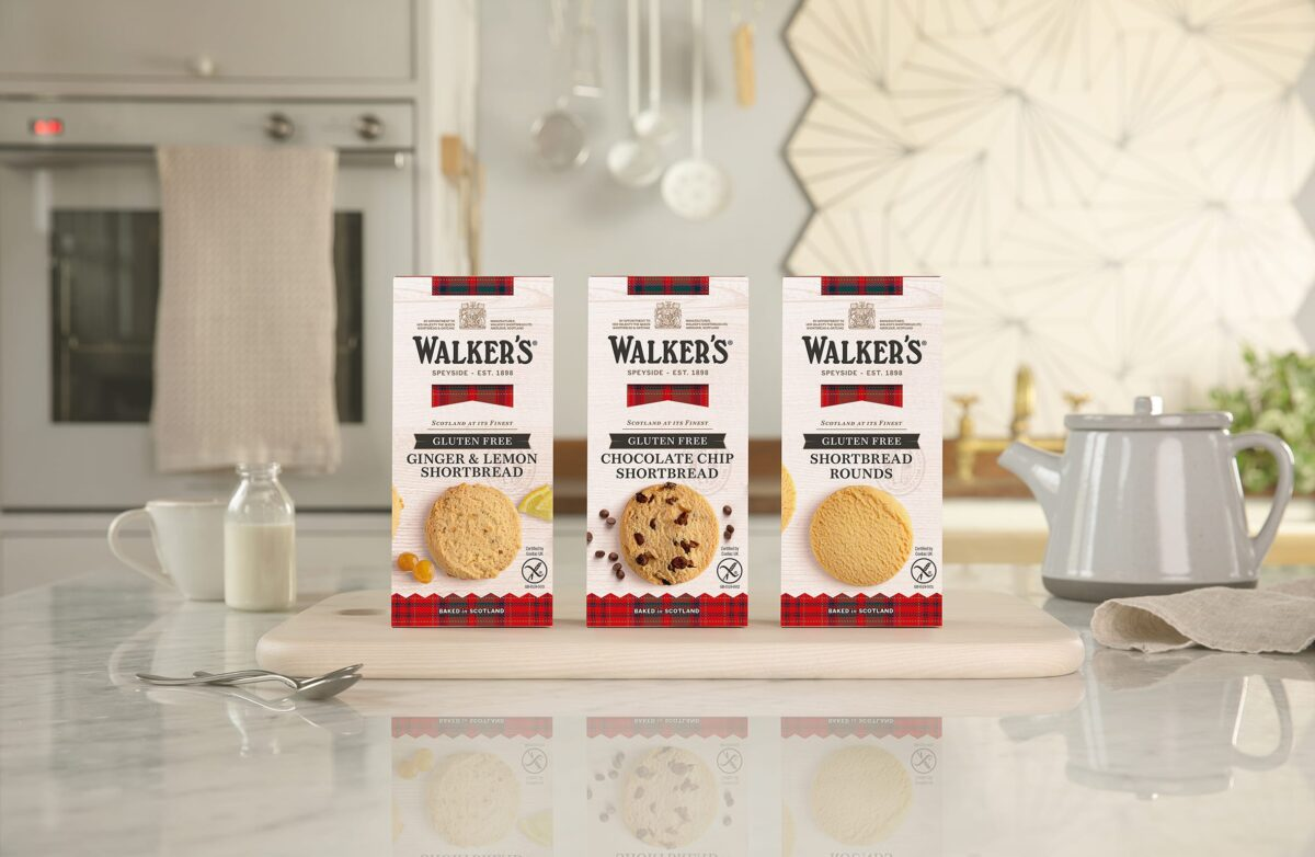 Walker's Relaunch Gluten Free Collection in Sainsbury's