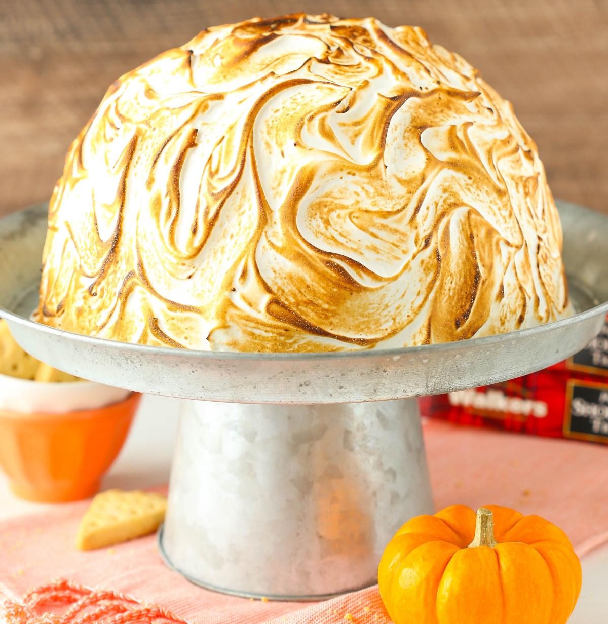 Pumpkin Spice Baked Alaska