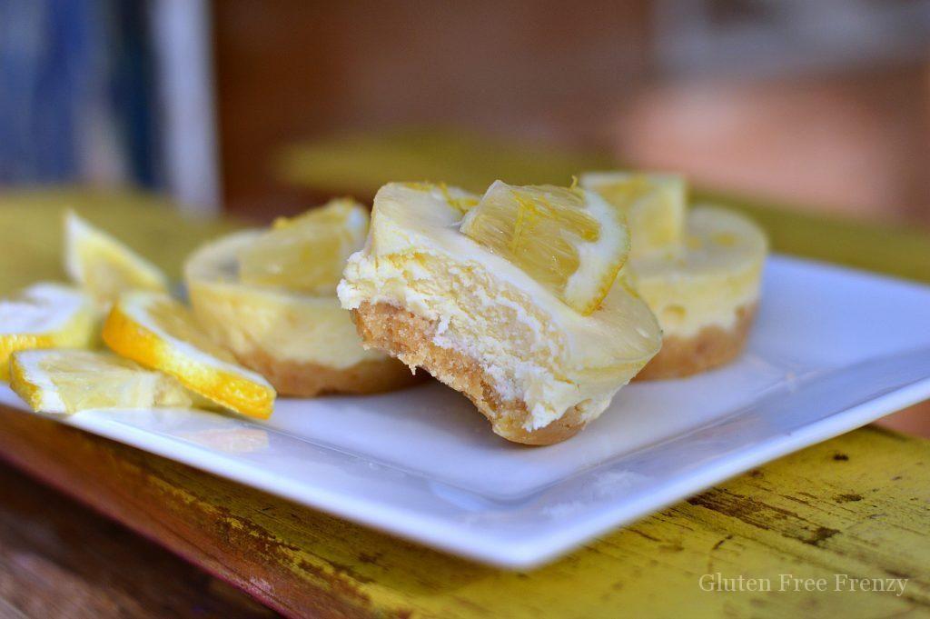 Lemon Ginger Cheesecake