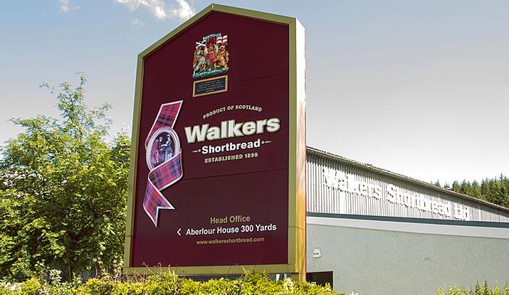 Walkers Shortbread Factory - present day