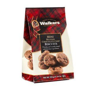 Walkers Mini Belgian Chocolate Chip Cookies