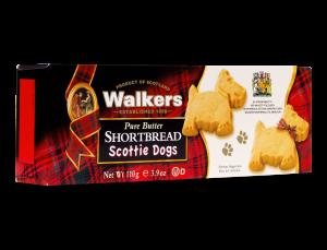 Scottie Dog Shaped Shortbread