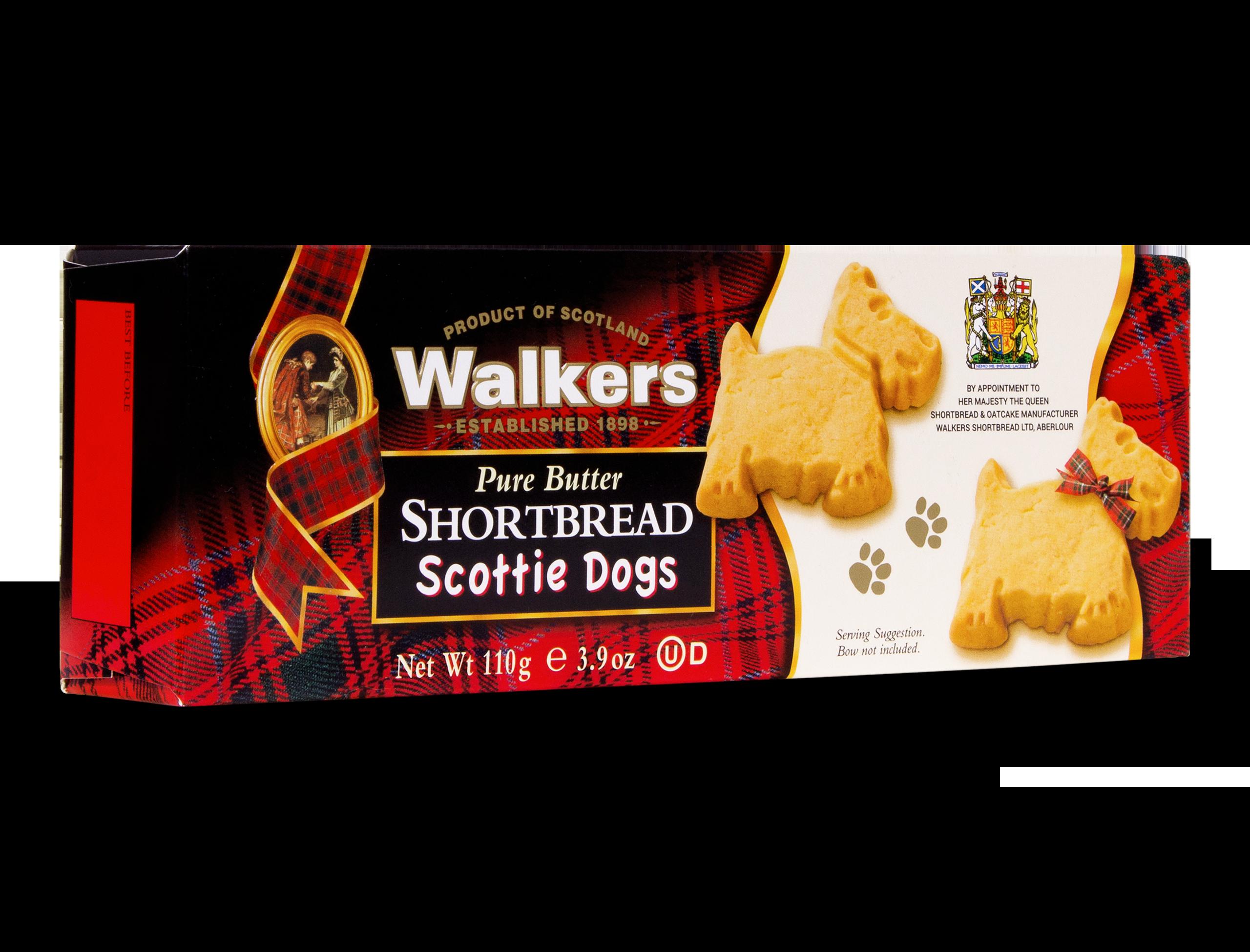 Shortbread Scottie Dogs