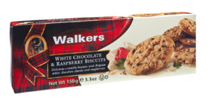 White Chocolate and Raspberry Cookies