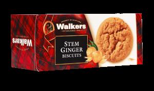 Gluten-free stem ginger cookies