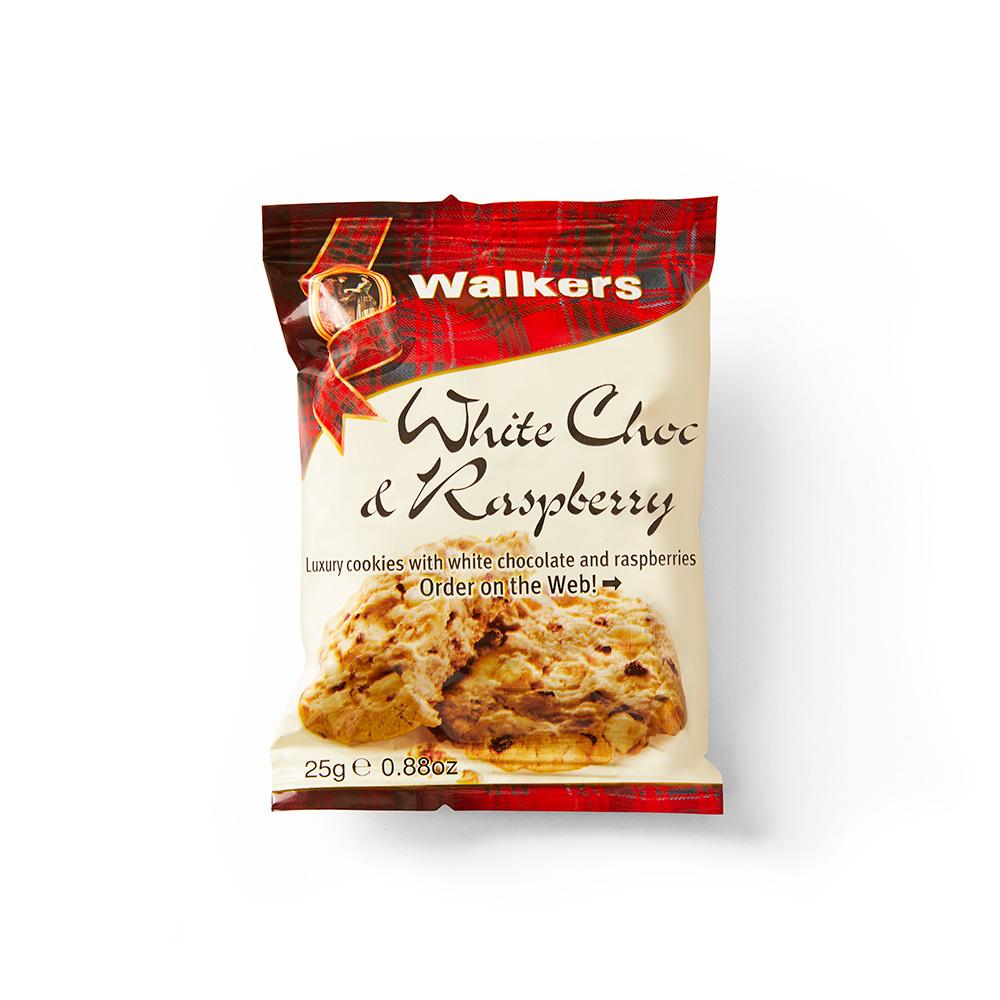 Snack Pack White Chocolate & Raspberry Cookies 100 Ct.