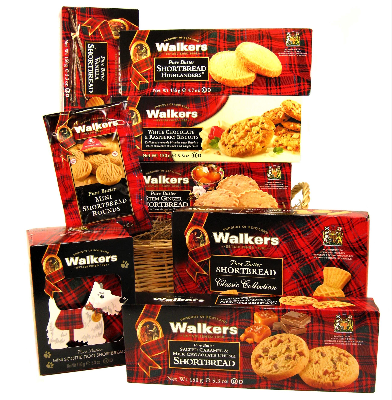 Taste of Scotland Gift Basket