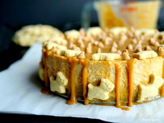 Butterscotch Overload Cheesecake