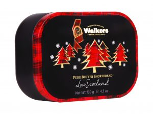 Christmas Tree Tin - Walkers Shortbread Holiday Cookies
