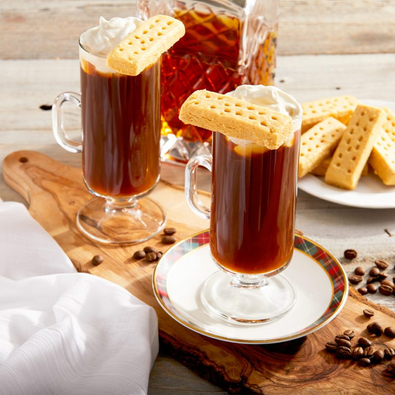 A Decadent Winter 'Swally' — Scottish Coffee with Walkers Shortbread