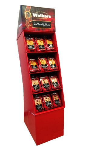48 Count Walkers Minis Shipper Display