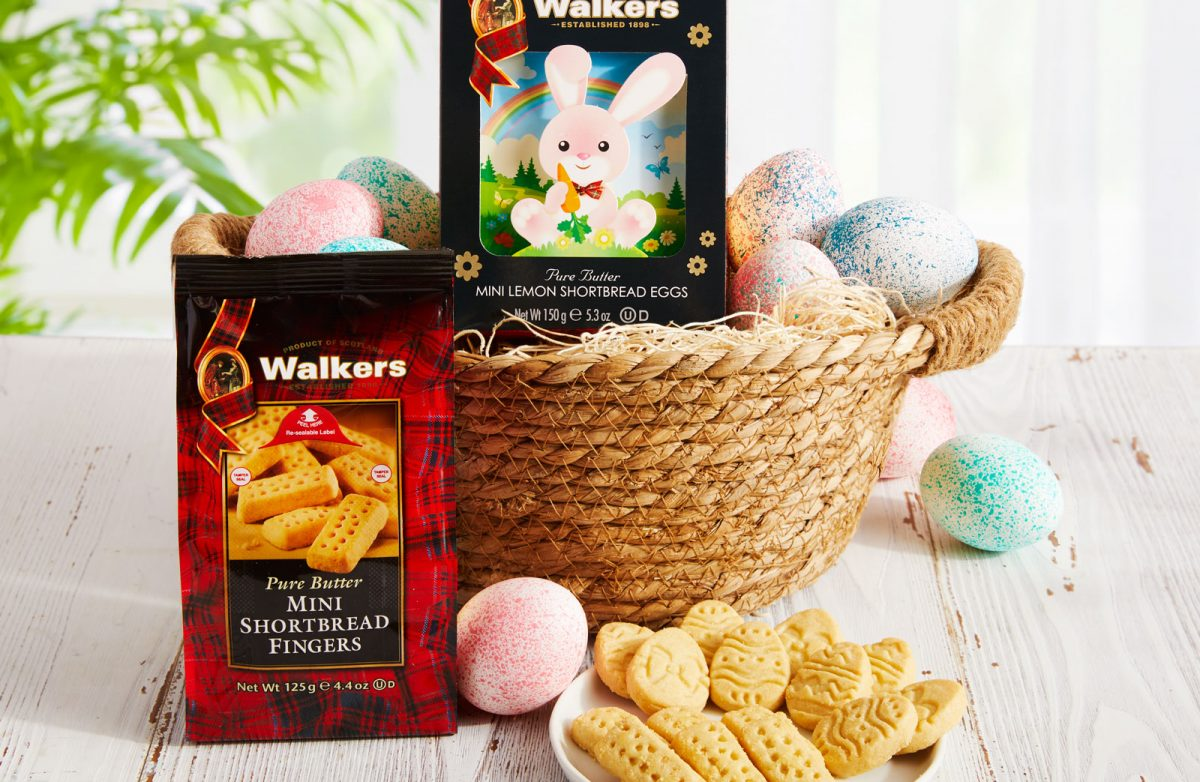 Build Your Perfect Easter Basket with Walkers Shortbread